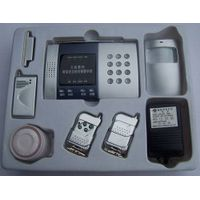 wireless intelligent  burglar GSM alarm system for home and commercial