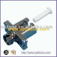 LC-FC hybrid fiber optic adapter