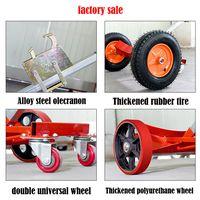 2 4 wheels oil drum hand truck fuel tank cart Simple Platform thumbnail image