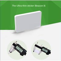 Ultra thin white New bluetooth advertising beacon, Bluetooth 4.0 with SDK
