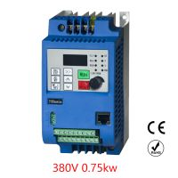 VFD Inverter Free shipping 0.75kw 380v frequency converter ventilation fan sculpture machine