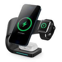 Magnetic qi 4 in 1 wireless charger with USB output