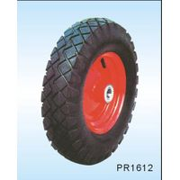 eco- friendly pneumatic rubber wheel with PAHS standard TUV certification 10*3.50-4