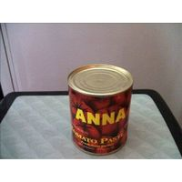 brix:24-26% tomato paste  198g*48tin/carton
