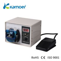 Kamoer DIP High Fow Intelligent Industrial acid chemical Peristaltic Pump 24volts Water Pump With BP thumbnail image