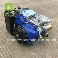 GX390 gasoline half engine with key start thumbnail image