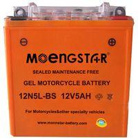 12n5l-BS Maintenance-Free Super Gel Motorcycle Battery