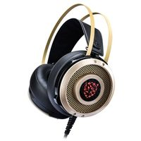Big earcushion fashion  USB Lighting  game headset