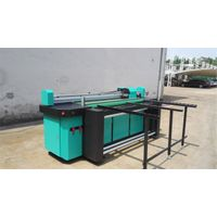 1.8m Hybrid Printer UV Flatbed &Roll to Roll Printing Machine for Both Rigid and Flexible Material