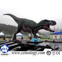 Outdoor Playground realistic Dinosaur Statue