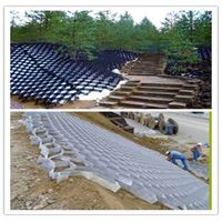 reinforced high density plastic HDPE geocell