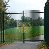 Low Price&High Quality Wrought Iron Gate Design,Fence Gate,Metal Fence Gate