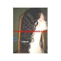 Lace front wigs 100% remy human hair thumbnail image