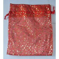 printed organza bag