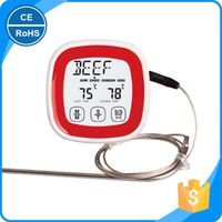 Fashion Popular Mini LCD Touch Screen Digital Timer BBQ Thermometer Kitchen Cooking Food