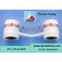 herbal tea and pyramid tea bag packaging materials for packing machine
