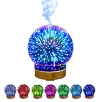 Essential Oil Diffusers for Aromatherapy, Quite Diffuser Humidifier with 8 Color Night Lights, thumbnail image