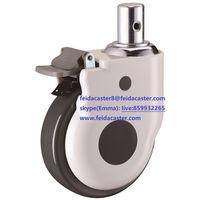 "[Feida]5""Plastic PP caster used for medical instrument medium duty China caster manufacturer"