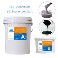 Excellent adhesion Two component silicone sealant adhesive for insulating glass thumbnail image