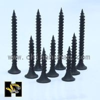 black phosphating C1022a buggle head drywall screws from manufeature