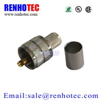 Straight PL259 Connector UHF Male Plug