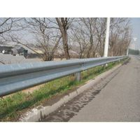 Hot dip galvanized traffic barrier thumbnail image