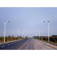 5M 15Watt solar street lights Bent arm lamp standard version of solar LED street lamp