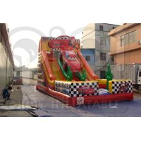 INFLATABLE DISNEY CARS DOUBLE LANE SLIDE thumbnail image