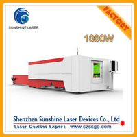 1000W fiber laser cutting machine from China for cutting metal