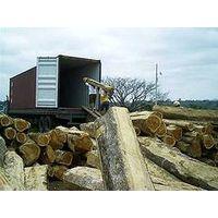 Teak wood square logs thumbnail image