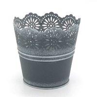 Low price high quality handmake metal flower pot