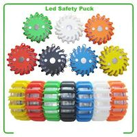 Rechargeable LED Safety Pucks