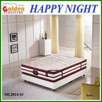 Foshan Golden Furniture Double Sleep Pocket Spring Foam Mattress Used Bedroom Furniture Mattress For