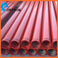 Hot sell concrete pump pipes/tubes/pipelines/seamless steel pipe thumbnail image