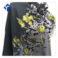 Low price yarn dyed jacquard polyester fabric for scarf and dresses thumbnail image