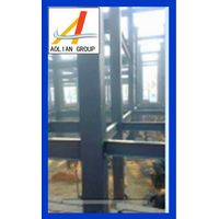 Galvanized steel frame structured construction and plant