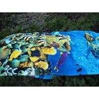 100% cotton reactive printed beach towel thumbnail image