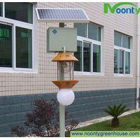 Solar pest-killing lamp