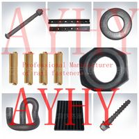 rail track fasteners manufacturer from china