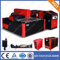 SD-YAG 1212 small yag 600w laser cut machine for metal plate thumbnail image