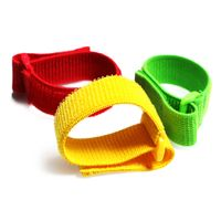 High Elastic hook and loop custom elastic straps with buckle