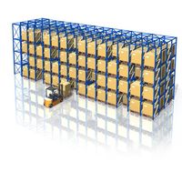 Warehouse racking, Jracking heavy duty & high density drive in drive though pallet racking