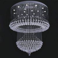 hot sell Chinese top k9 crystal ceiling light/lamp 6032-22