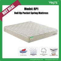 Very Cheap Price Roll Up Individual Pocket Spring Mattress