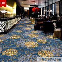 Elegant flower pattern axminster carpet for five star hotel