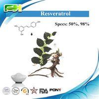 Natural Herb Extract Resveratrol 50%, Resveratrol 98%
