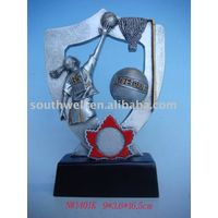 resin basketball trophy---NW1401K thumbnail image