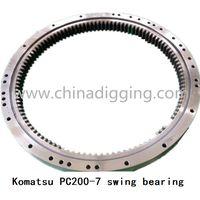 Komatsu pc200-7 swing bearing slew ring thumbnail image