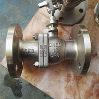 PN16 stainless steel flange ball valve