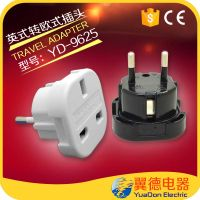 High Good Qulaity Top Selling Eu Standard universal UK to euro Plug Adapter